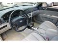 Gray 2007 Hyundai Sonata Interiors