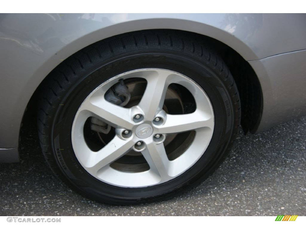 2007 Hyundai Sonata Limited V6 Wheel Photo 68429396