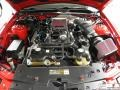 2007 Torch Red Ford Mustang Shelby GT500 Coupe  photo #14