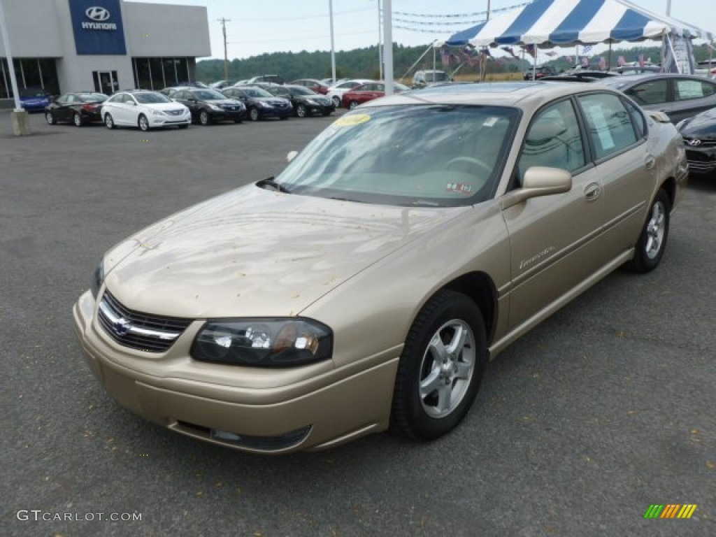 Sandstone Metallic 2004 Chevrolet Impala Ls Exterior Photo 68435777