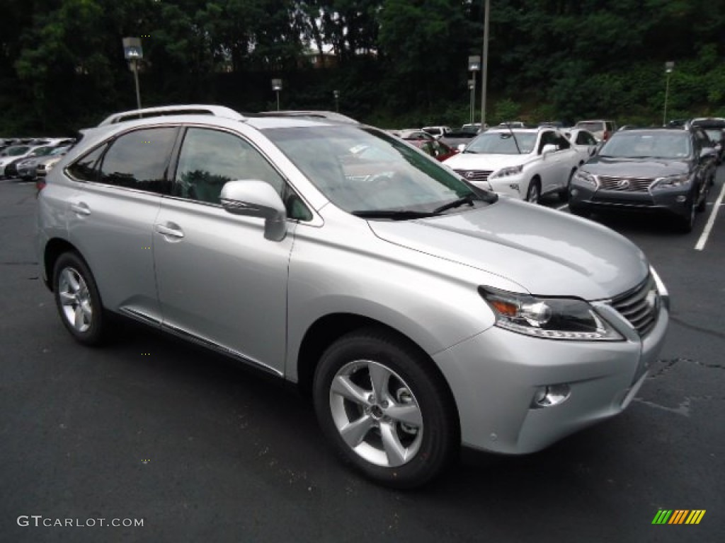 Silver Lining Metallic 2013 Lexus Rx 350 Awd Exterior Photo 68451212