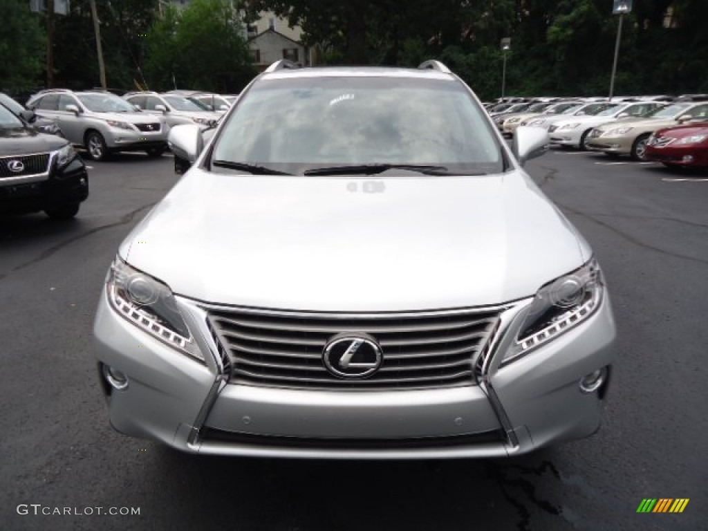 Silver Lining Metallic 2013 Lexus Rx 350 Awd Exterior Photo 68451221