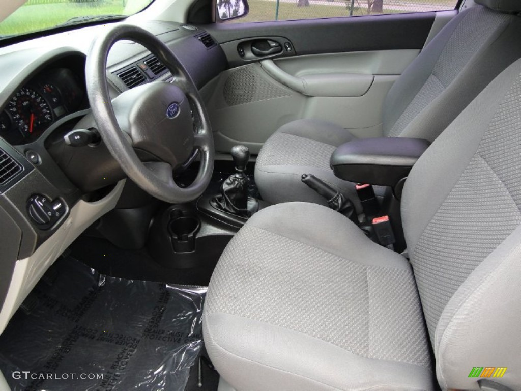 Charcoal Light Flint Interior 2006 Ford Focus Zx3 Se