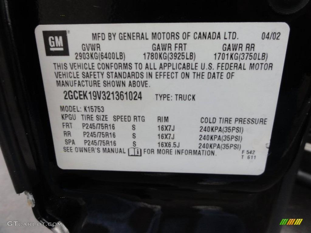 2002 Silverado 1500 LS Extended Cab 4x4 - Onyx Black / Graphite Gray photo #36