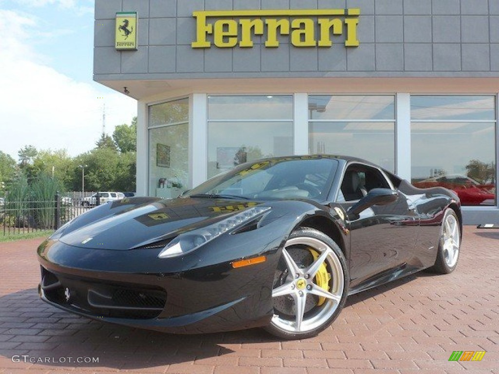 2011 Nero Black Ferrari 458 Italia 68405648 Gtcarlot Com Car Color Galleries