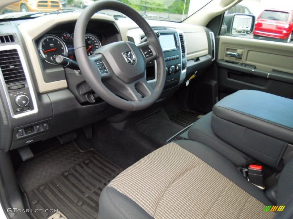 2012 Dodge Ram 1500 Outdoorsman Crew Cab interior Photo 68464135
