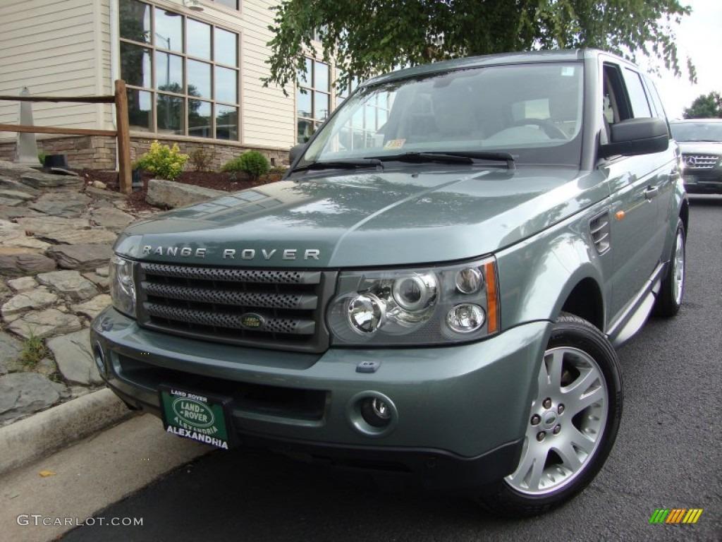 2006 giverny green metallic land rover range rover sport hse 68406744 car. Black Bedroom Furniture Sets. Home Design Ideas