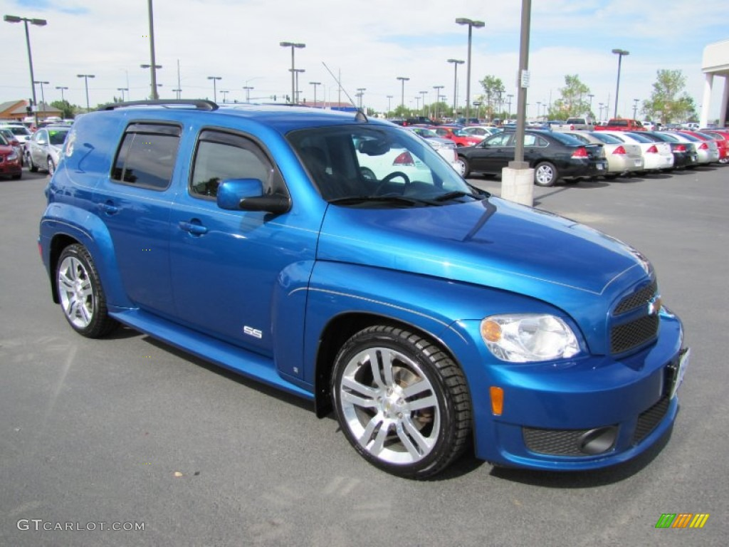 2009 Blue Flash Metallic Chevrolet Hhr Ss 68406737 Gtcarlot Com