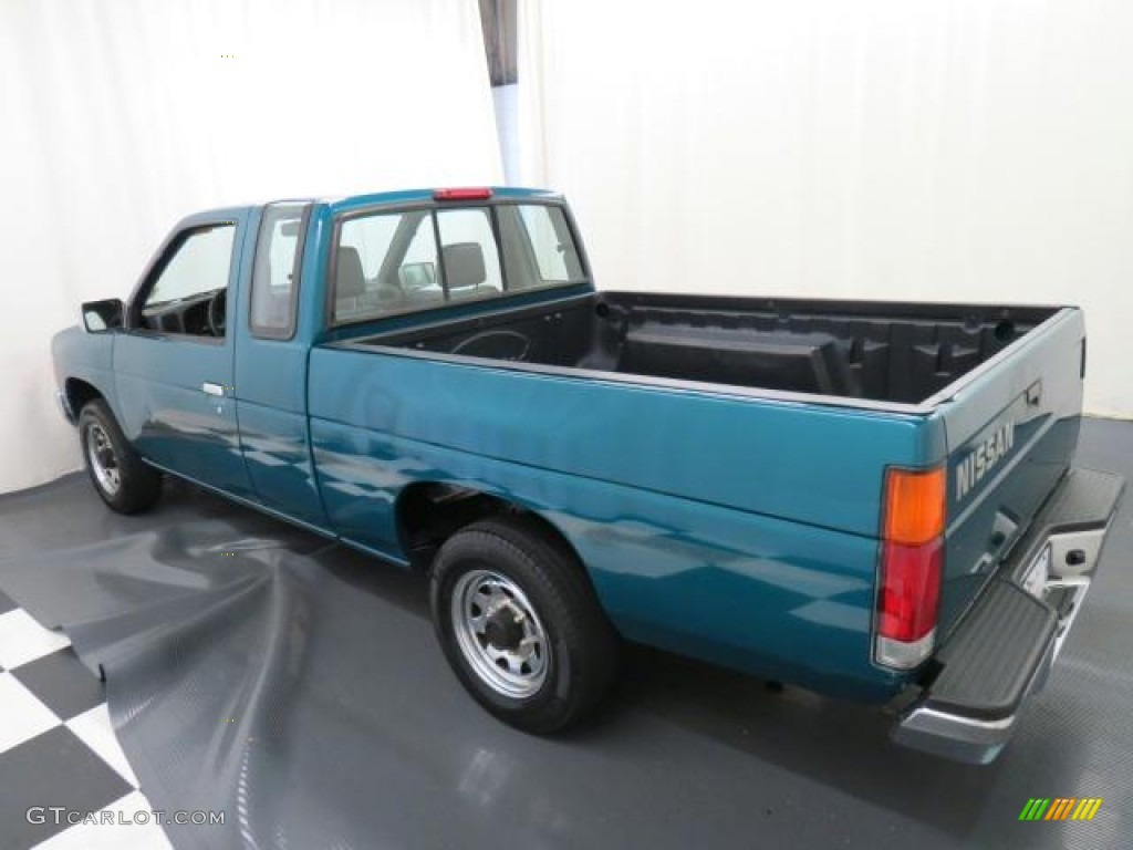 Vivid teal pearl metallic 1995 nissan hardbody truck xe extended cab exterior photo 68467831
