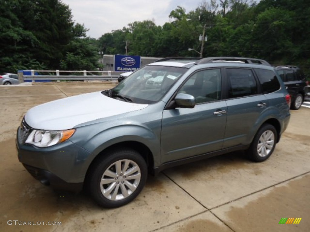 2013 sage green metallic subaru forester 2 5 x limited 68469034 photo 6 car. Black Bedroom Furniture Sets. Home Design Ideas