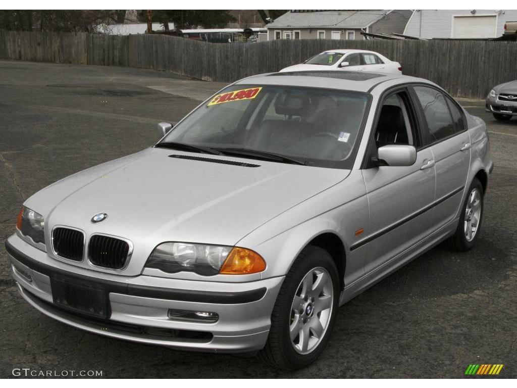 Titanium Silver Metallic BMW Series Xi Sedan - 2001 bmw 328i