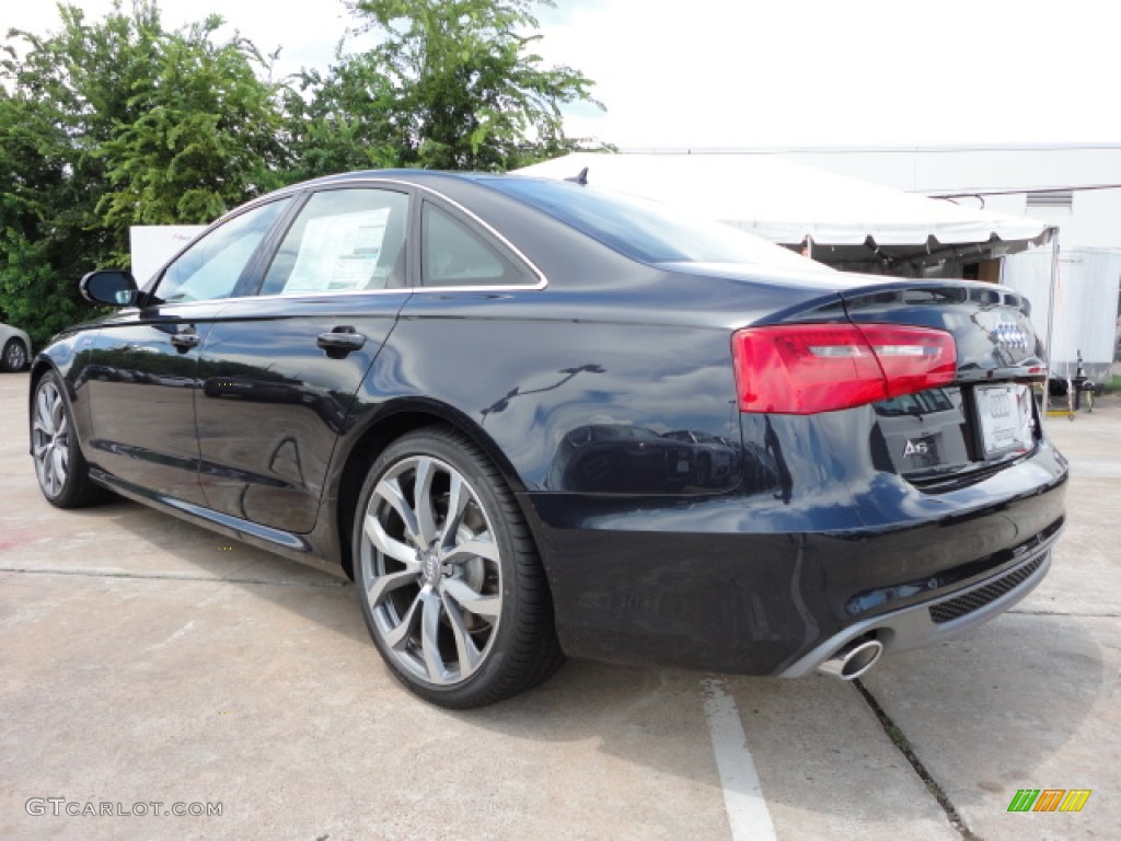 Moonlight Blue Metallic 2013 Audi A6 3 0t Quattro Sedan