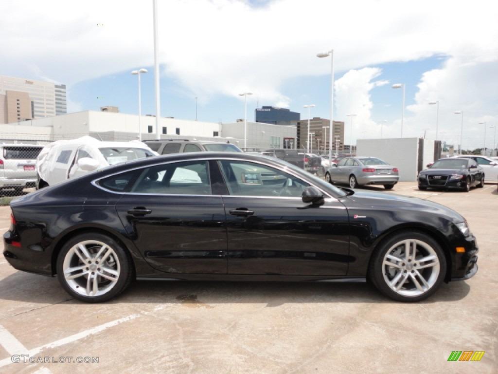 2013 Audi A7 Prestige Vs Premium Plus >> Phantom Black Pearl Effect 2013 Audi A7 3.0T quattro Prestige Exterior Photo #68492509 ...