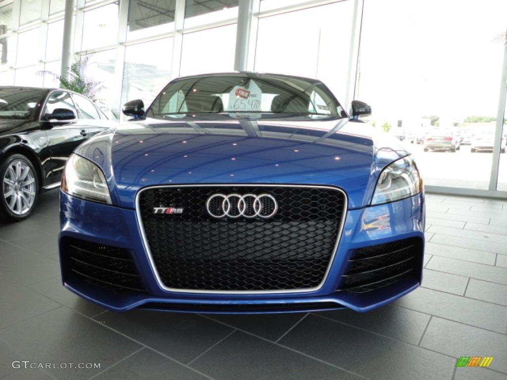 Sepang Blue Pearl Effect 2013 Audi Tt Rs Quattro Coupe