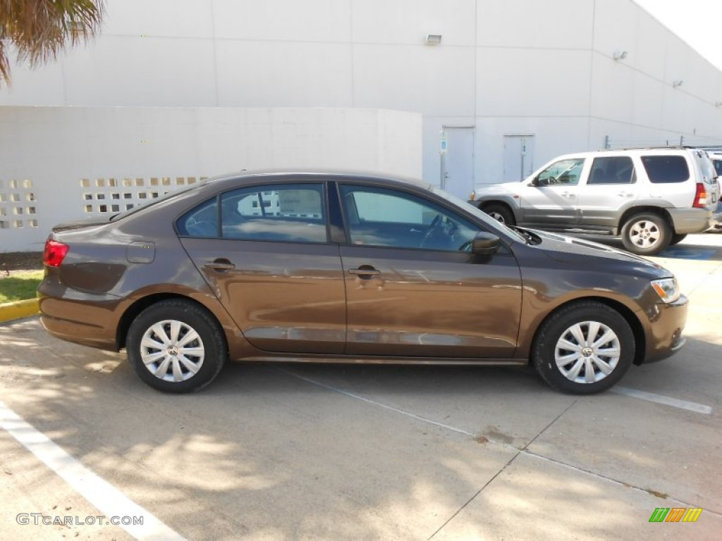 toffee brown metallic 2013 volkswagen jetta s sedan. Black Bedroom Furniture Sets. Home Design Ideas