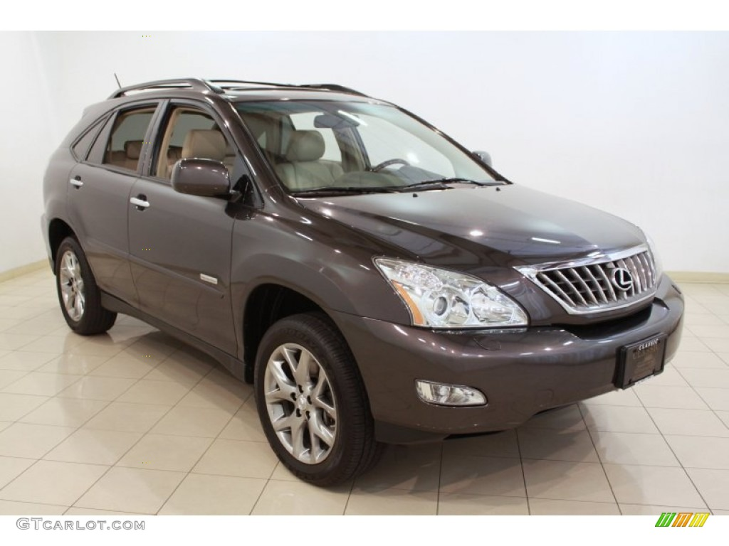 2009 truffle mica lexus rx 350 awd pebble beach edition 68469443 car color. Black Bedroom Furniture Sets. Home Design Ideas