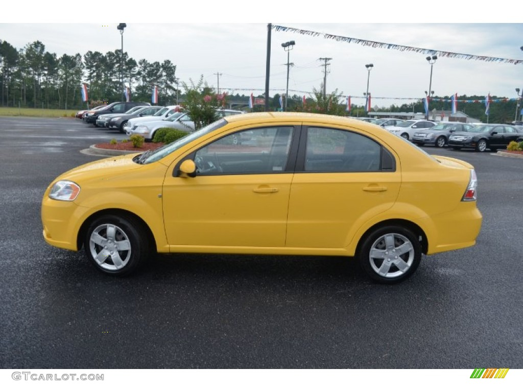 summer yellow 2010 chevrolet aveo lt sedan exterior photo 68518192. Black Bedroom Furniture Sets. Home Design Ideas