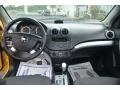 Charcoal 2010 Chevrolet Aveo LT Sedan Dashboard