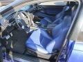 2005 GTO Blue Interior