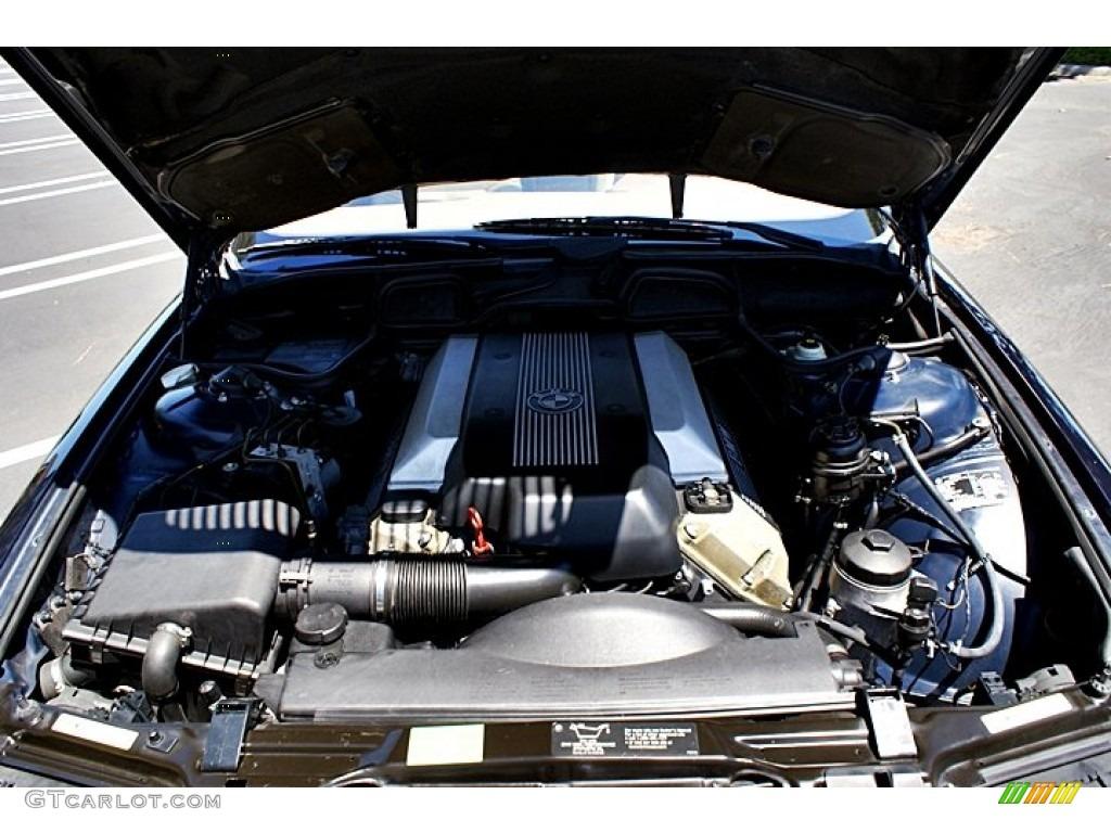 2001 Bmw 7 Series 740il Sedan 4 4 Liter Dohc 32