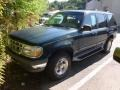 Deep Emerald Green Metallic 1996 Ford Explorer XLT 4x4