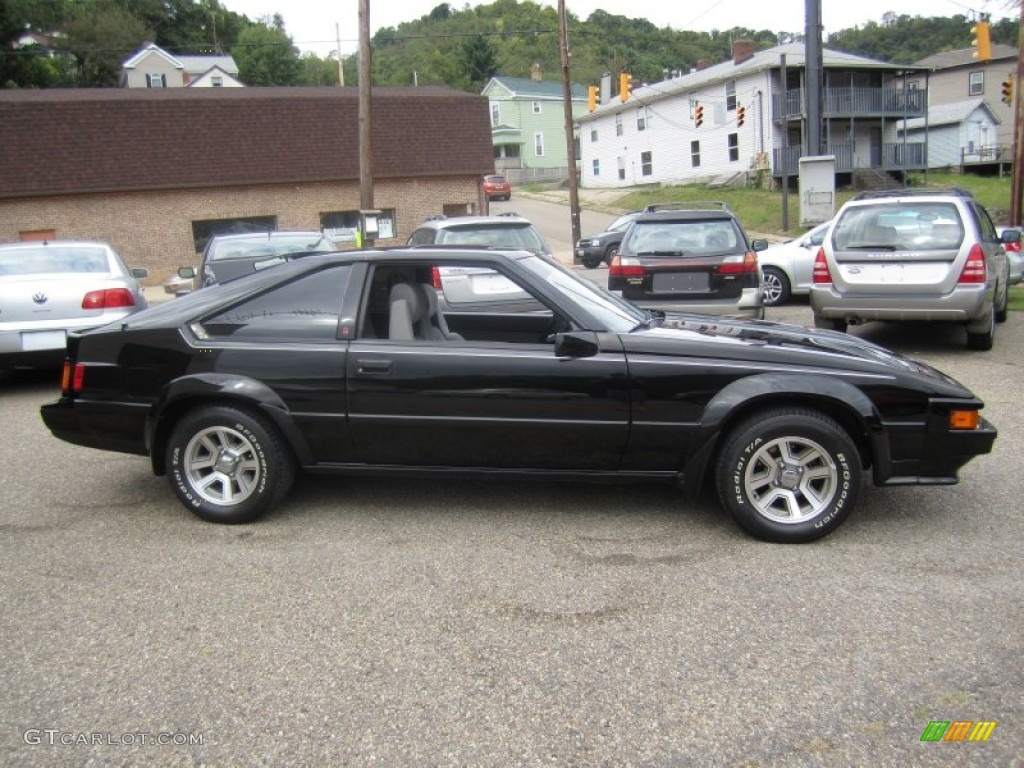 Black 1984 Toyota Celica Supra Exterior Photo 68528835