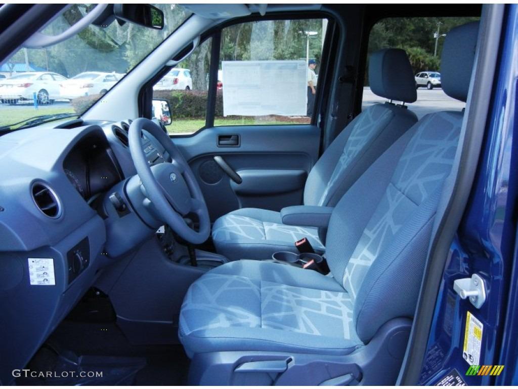 Dark Grey Interior 2012 Ford Transit Connect Xlt Van Photo 68535109
