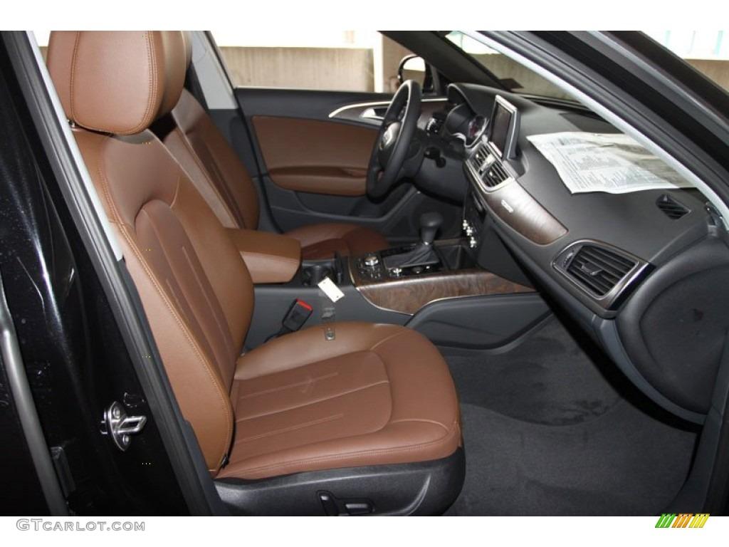Audi A6 Nougat Brown Interior Nougat Brown Interior 2013 Audi At Quattro Sedan Audi Digital