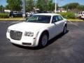 2008 Stone White Chrysler 300 LX  photo #1