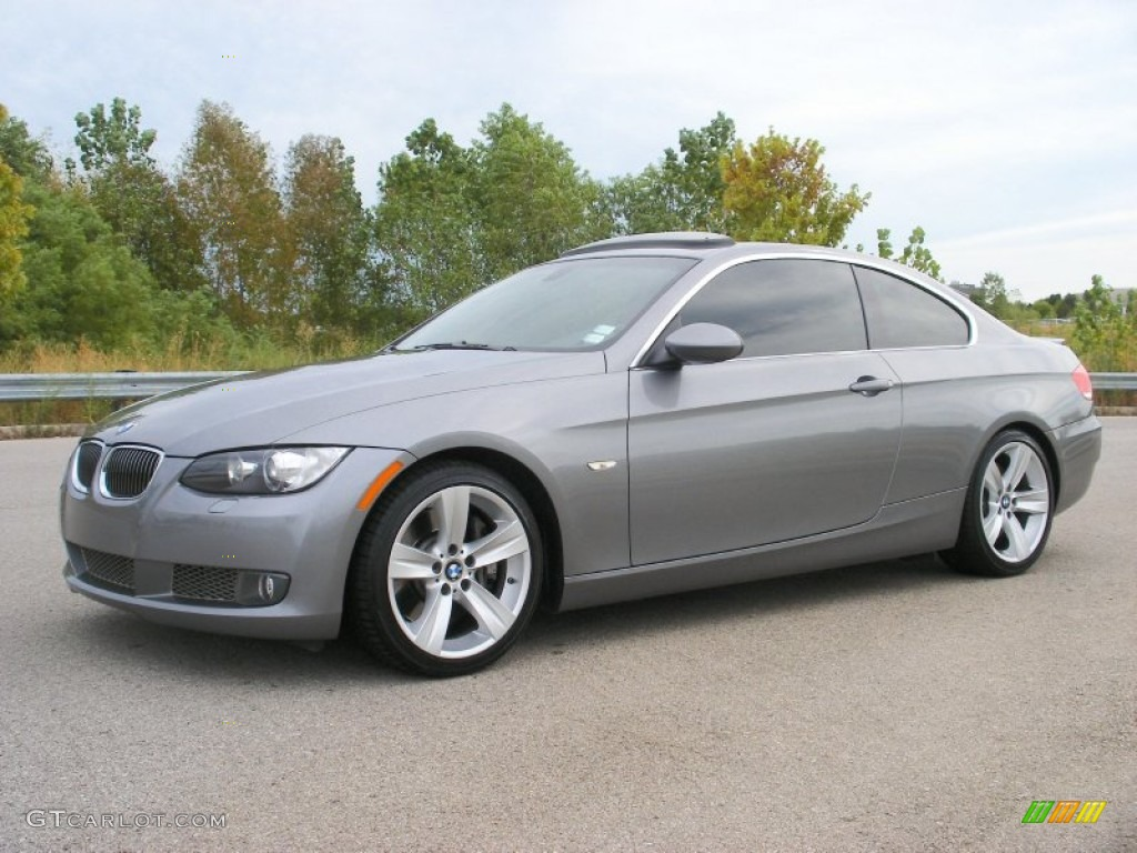 space gray metallic 2007 bmw 3 series 335i coupe exterior photo 68549150. Black Bedroom Furniture Sets. Home Design Ideas