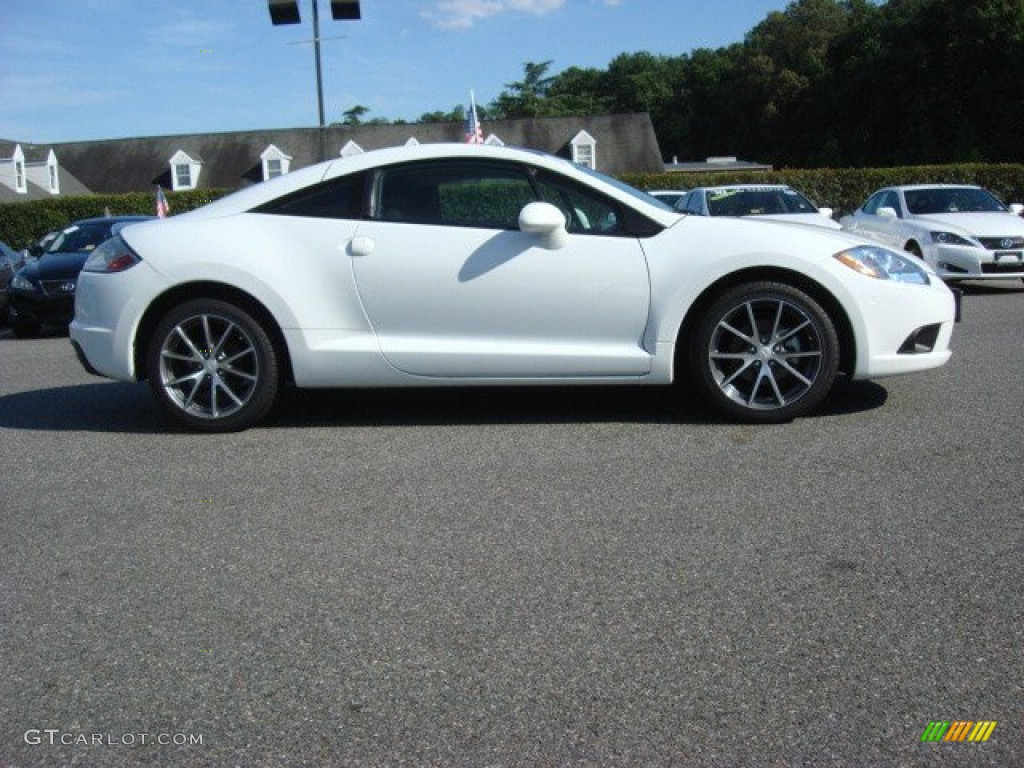 Northstar White 2012 Mitsubishi Eclipse GS Coupe Exterior Photo #68550565 | GTCarLot.com