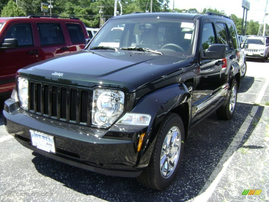 2012 Jeep Liberty Black Forest Green