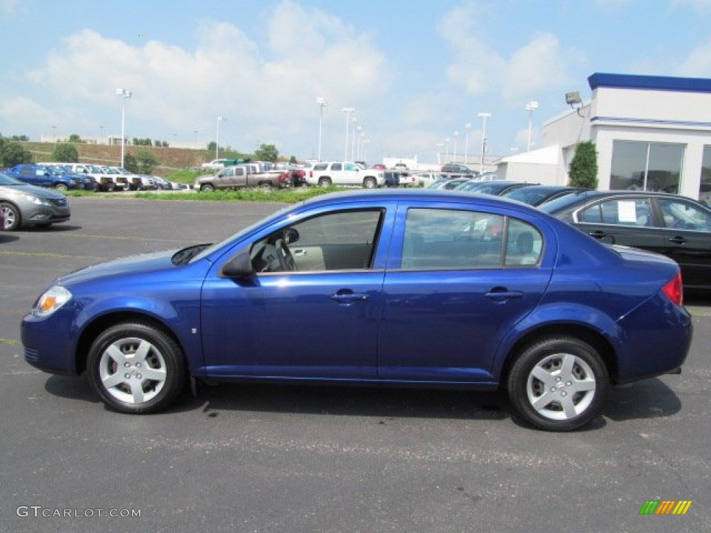 laser blue metallic 2007 chevrolet cobalt ls sedan exterior photo 68565574. Cars Review. Best American Auto & Cars Review