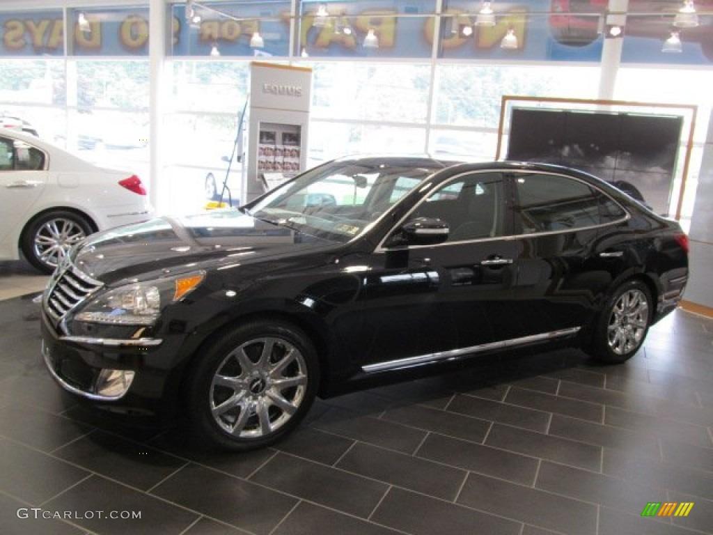 2013 Black Noir Pearl Hyundai Equus Ultimate 68522734