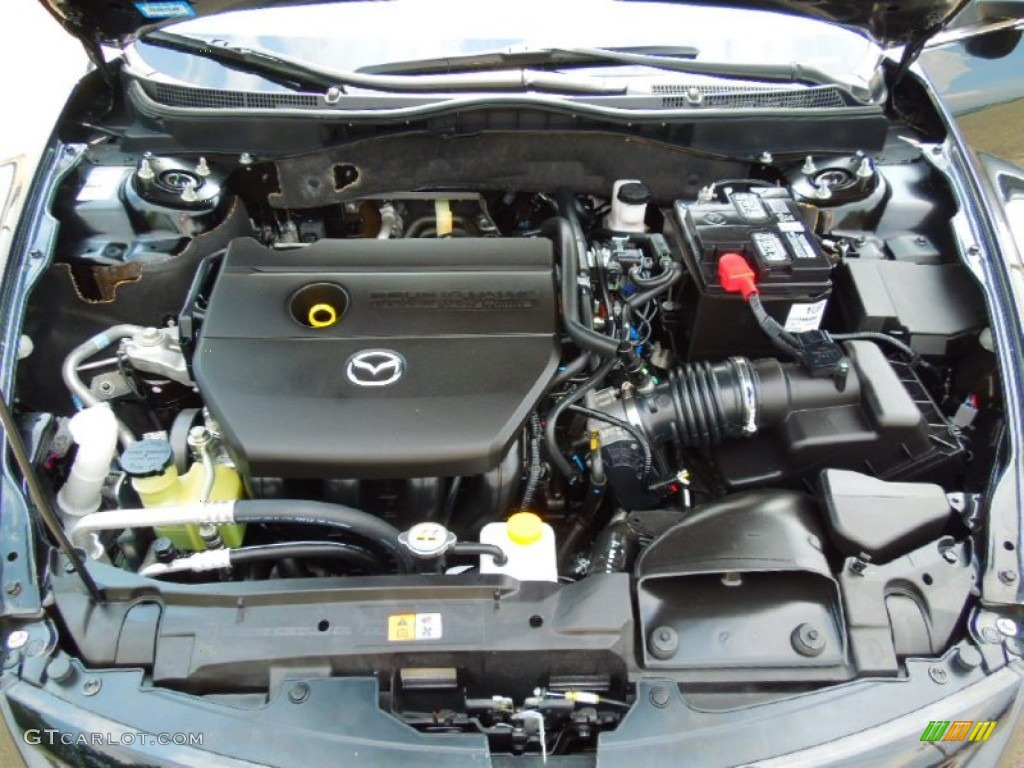 2012 Mazda Mazda6 I Touring Sedan 2 5 Liter Dohc 16 Valve Vvt 4 Cylinder Engine Photo 68570203