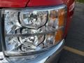 2012 Victory Red Chevrolet Silverado 1500 LS Extended Cab 4x4  photo #10