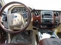 2012 Golden Bronze Metallic Ford F250 Super Duty King Ranch Crew Cab 4x4  photo #27