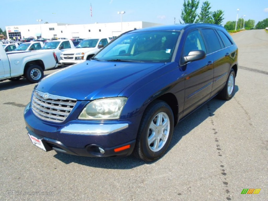 Midnight Blue Pearl 2004 Chrysler Pacifica Standard Pacifica Model Exterior Photo 68572768