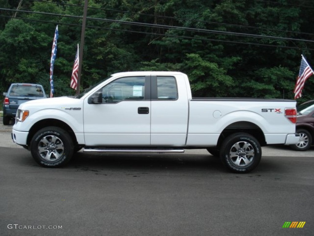 oxford white 2012 ford f150 stx supercab 4x4 exterior photo 68576962. Black Bedroom Furniture Sets. Home Design Ideas