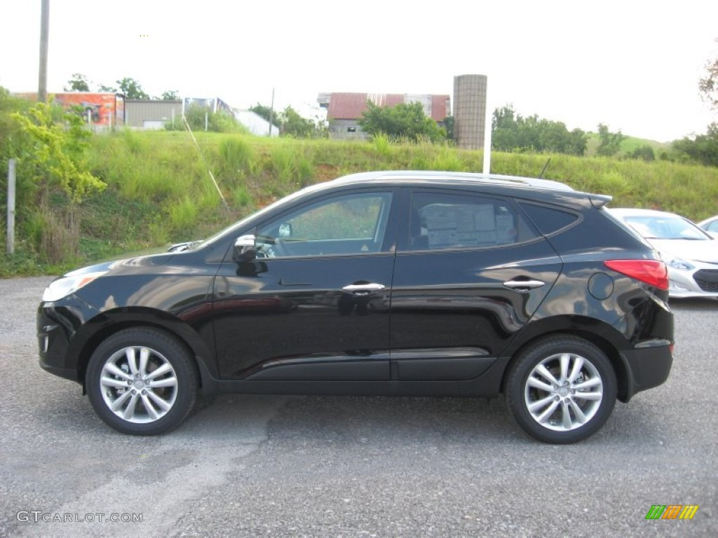 ash black 2012 hyundai tucson limited awd exterior photo 68580476. Black Bedroom Furniture Sets. Home Design Ideas