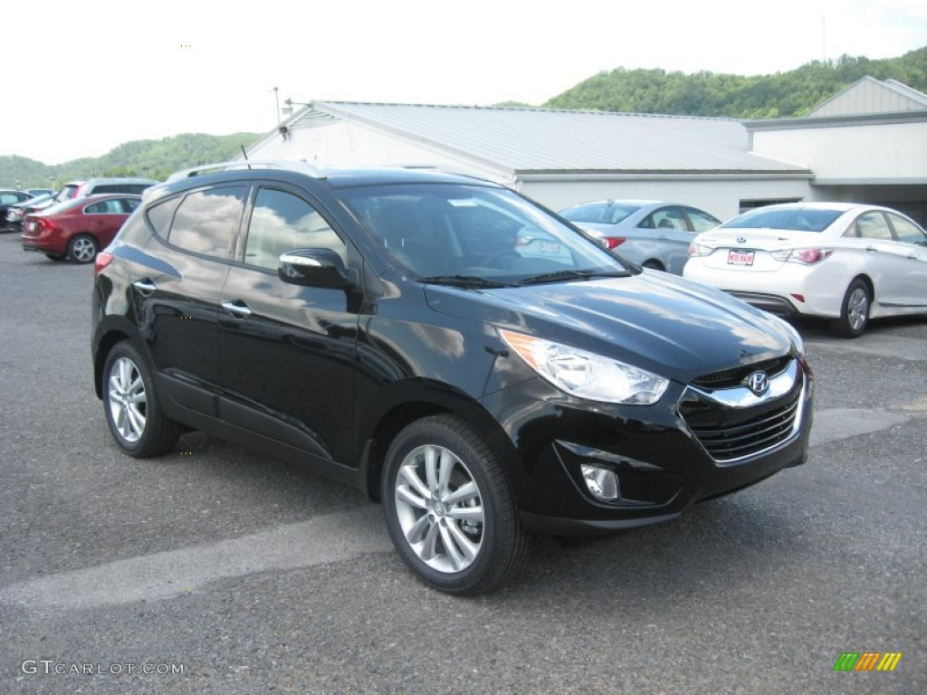ash black 2012 hyundai tucson limited awd exterior photo 68580515. Black Bedroom Furniture Sets. Home Design Ideas