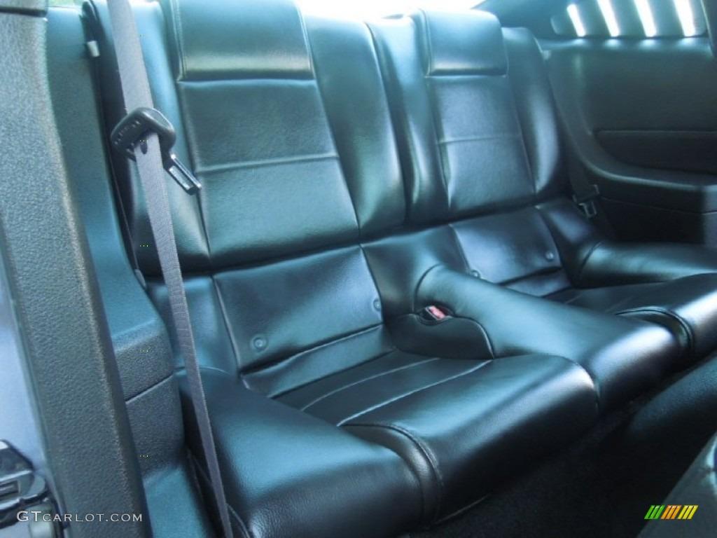 2007 Mustang V6 Premium Coupe - Tungsten Grey Metallic / Dark Charcoal photo #15