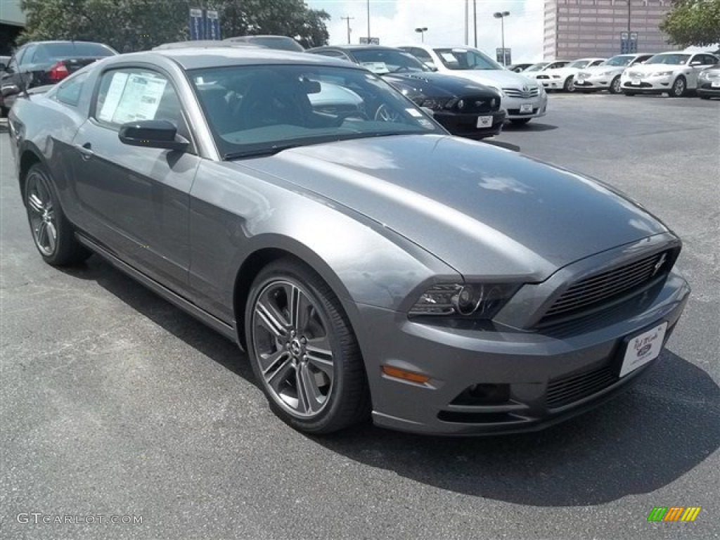 sterling gray metallic 2013 ford mustang v6 premium coupe exterior. Black Bedroom Furniture Sets. Home Design Ideas