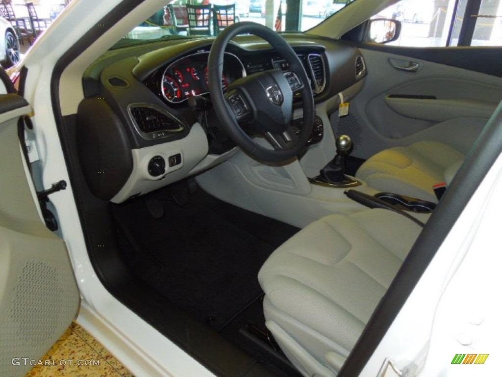 Black Light Diesel Gray Interior 2013 Dodge Dart Sxt Photo 68584109