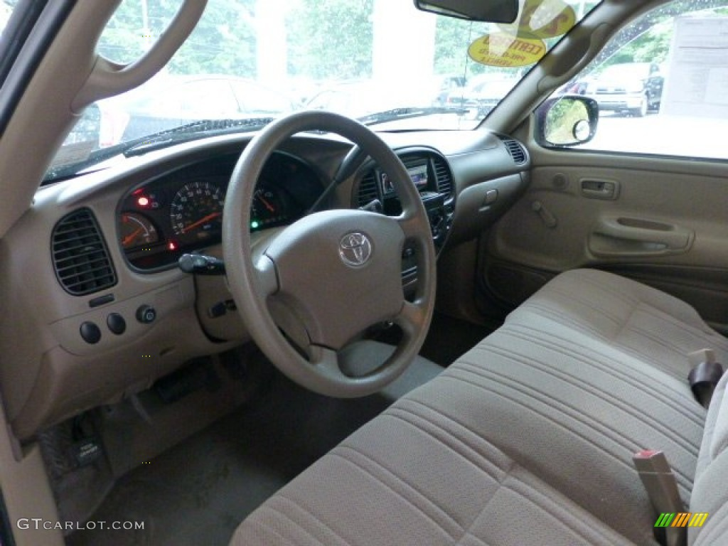 oak interior 2003 toyota tundra regular cab photo 68585949. Black Bedroom Furniture Sets. Home Design Ideas