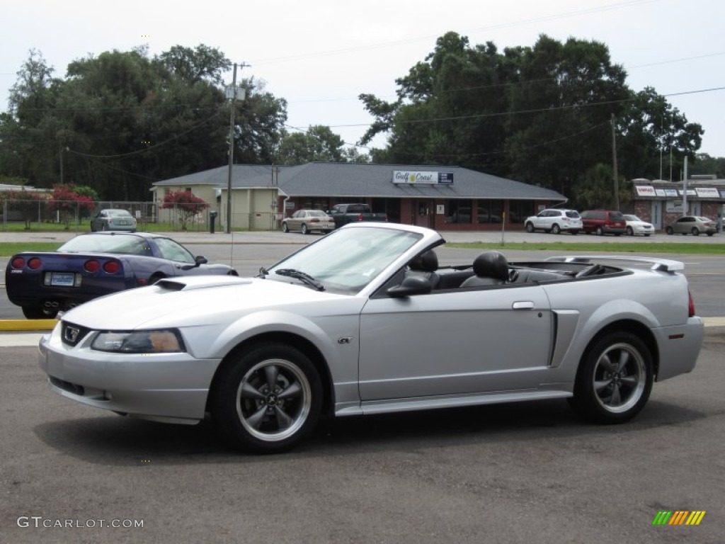 Silver Metallic 2003 Ford Mustang Gt Convertible Exterior Photo 68586656