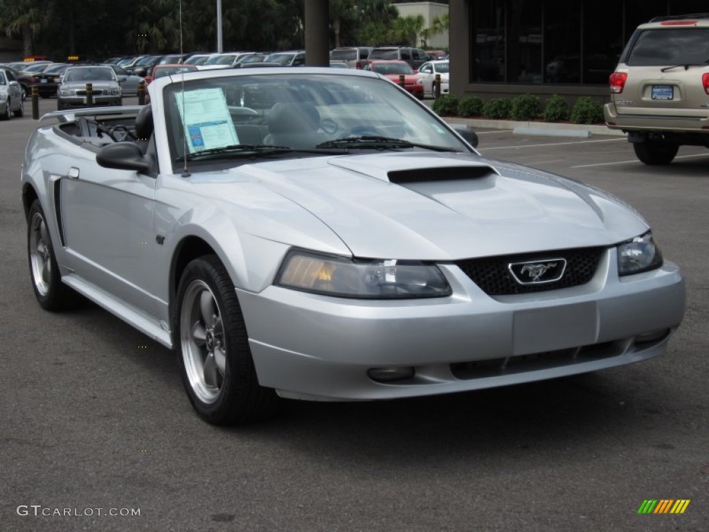 silver metallic 2003 ford mustang gt convertible exterior photo 68586698. Black Bedroom Furniture Sets. Home Design Ideas