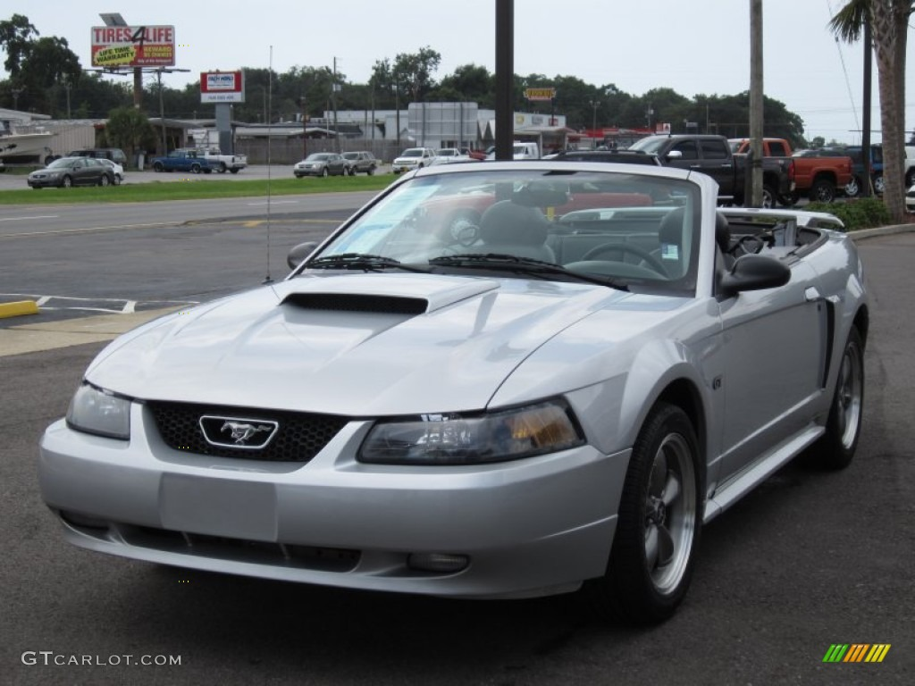 silver metallic 2003 ford mustang gt convertible exterior photo 68586869. Black Bedroom Furniture Sets. Home Design Ideas