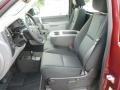 2013 Deep Ruby Metallic Chevrolet Silverado 1500 Work Truck Regular Cab 4x4  photo #13