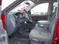 2007 Inferno Red Crystal Pearl Dodge Ram 3500 SLT Quad Cab 4x4 Dually  photo #8